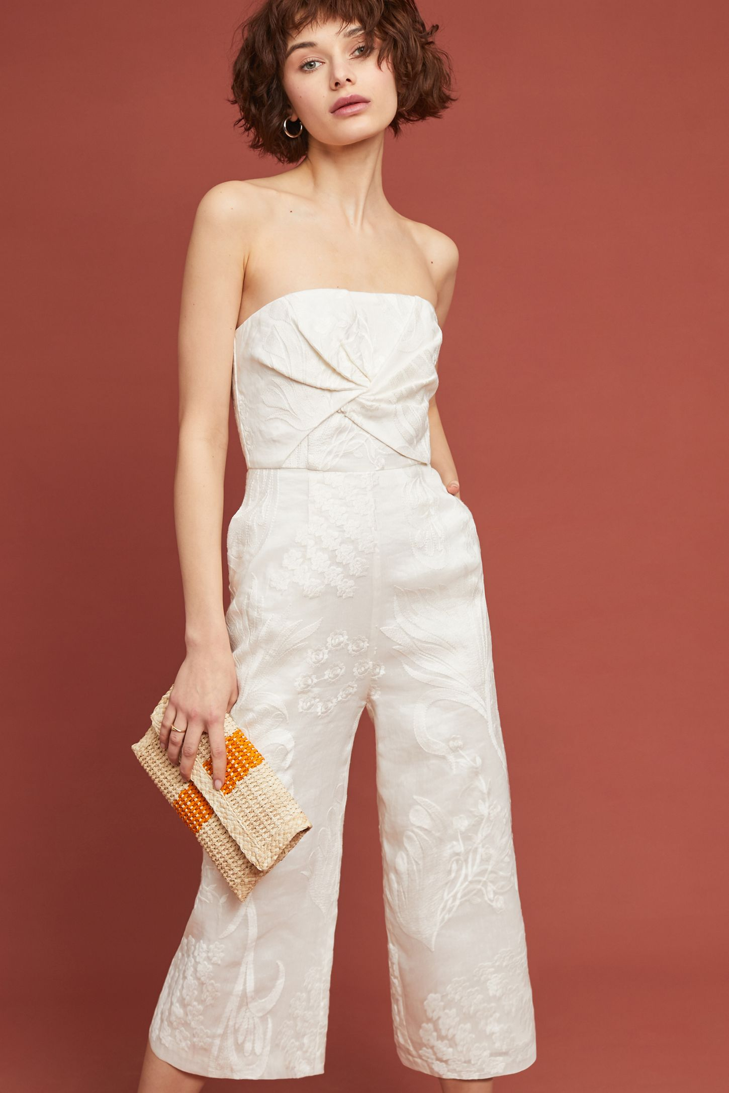 6fa00aaefa4f7 Natalie Embroidered Wide-Leg Jumpsuit | Anthropologie