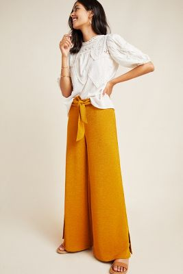 Sotheby Wide Leg Pants by Anthropologie