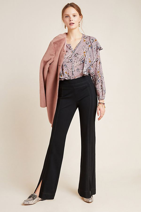 Slide View: 1: Adina Bootcut Ponte Trousers