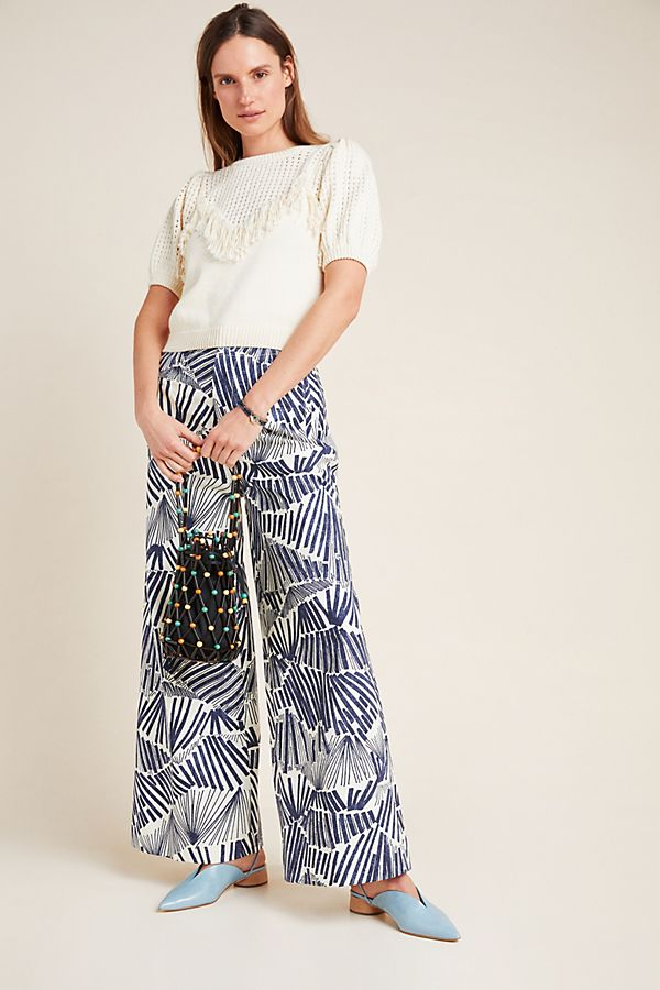 Slide View: 1: Kirstie Wide-Leg Pants