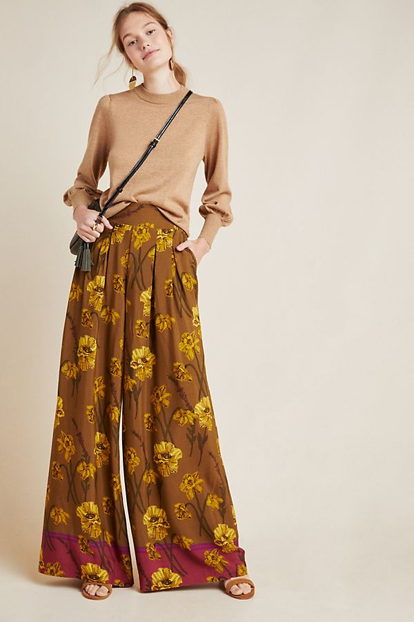 Slide View: 1: Terrace Floral Pants