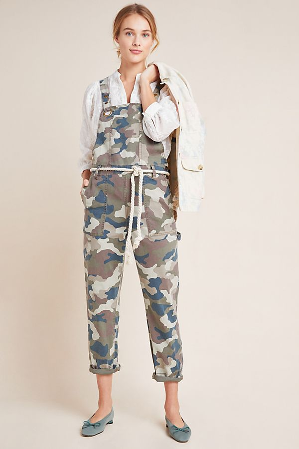 Slide View: 1: Carter Utility Overalls