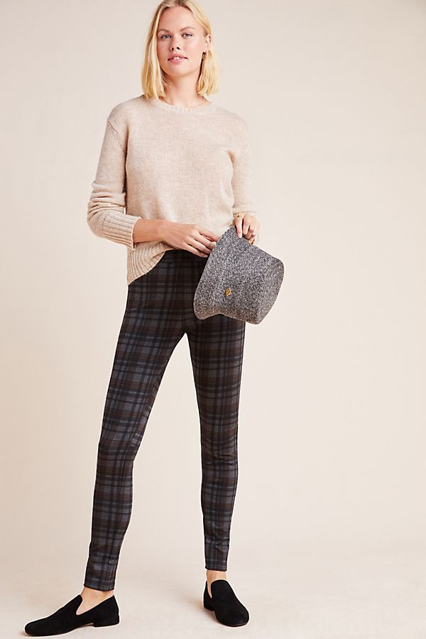 Slide View: 1: Sanctuary Northolt Plaid Leggings