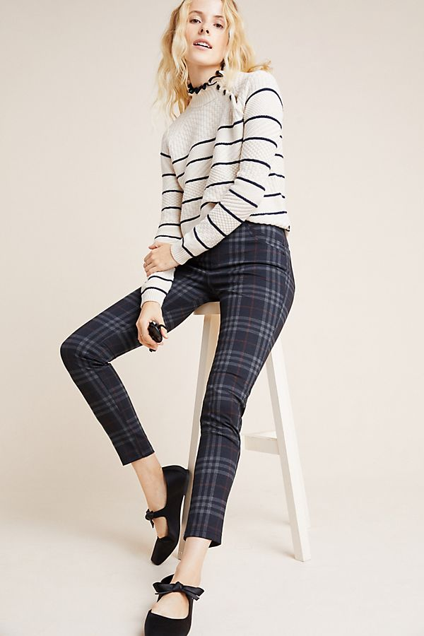 Slide View: 1: Sanctuary Brixton Plaid Leggings