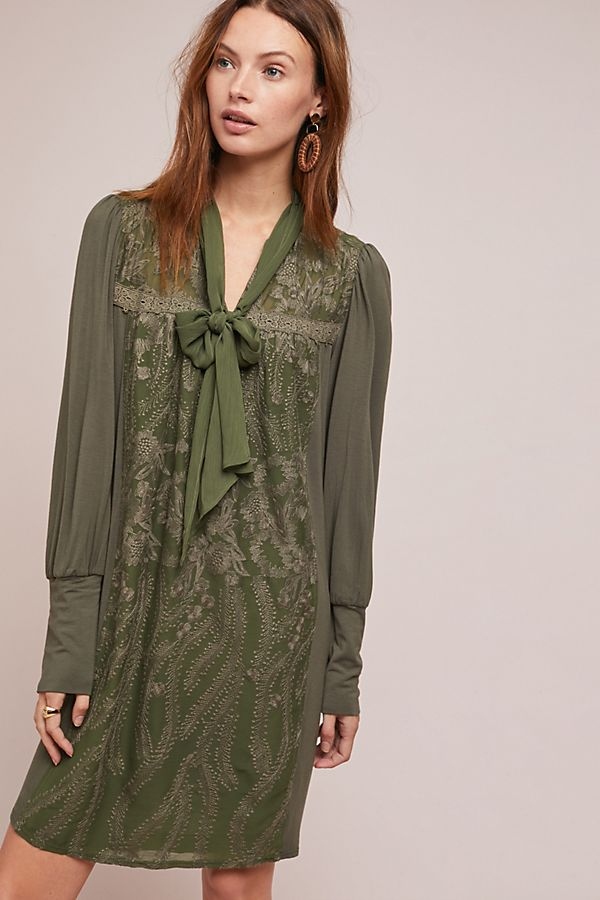 d861b233ee Isla Embroidered Tunic Dress
