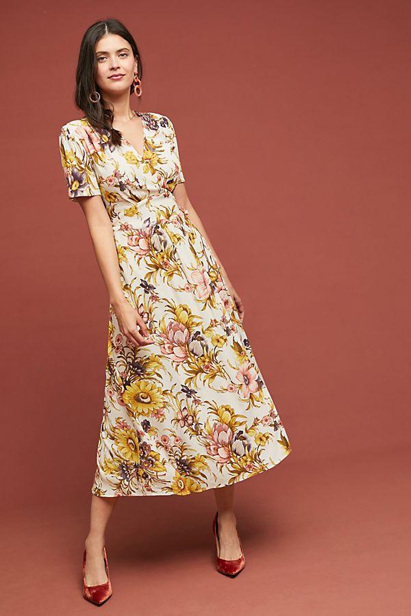 8fdaa3853269e Sunflower Wrap Dress