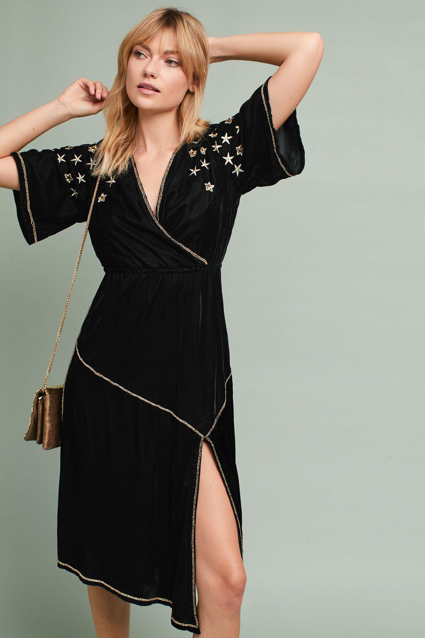 fc005e6962e3 Celestial Embroidered Dress | Anthropologie