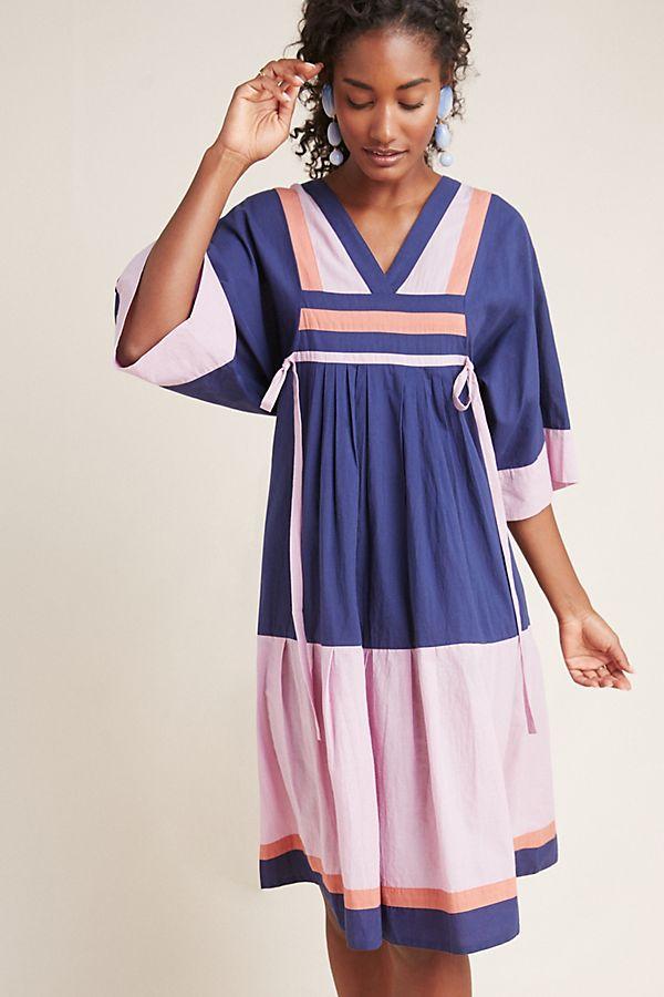 e33c13a01af Corey Lynn Calter Miranda Colorblocked Dress
