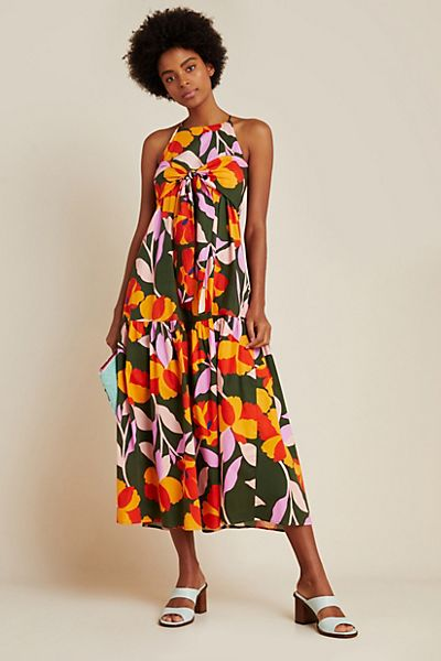 Corey Lynn Calter Delphine Tiered Maxi Dress