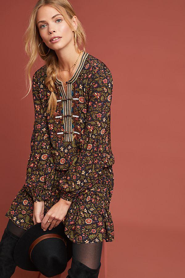 b2141c1cf24 Frye Odetta Floral Tunic Dress