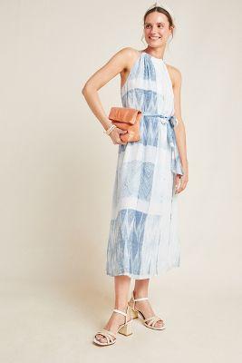 Frye Nicola Shibori Midi Dress by Frye