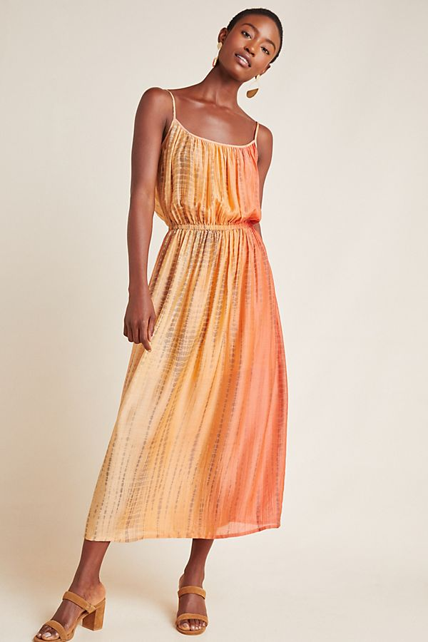 Slide View: 1: Frye Shibori Maxi Dress