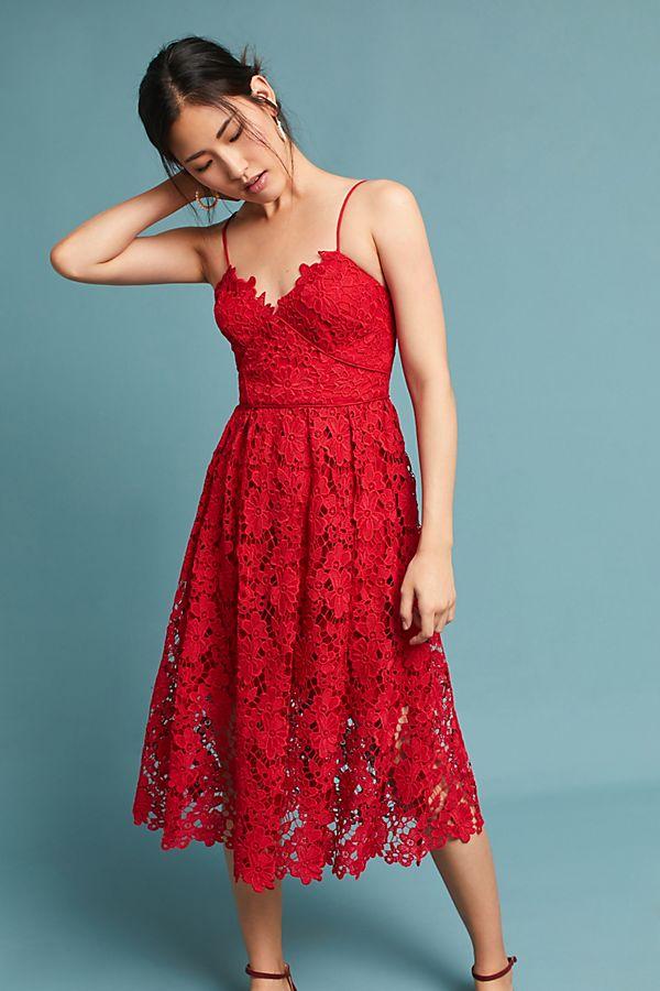 1921ab8e7d3a Scarlet Lace Dress   Anthropologie