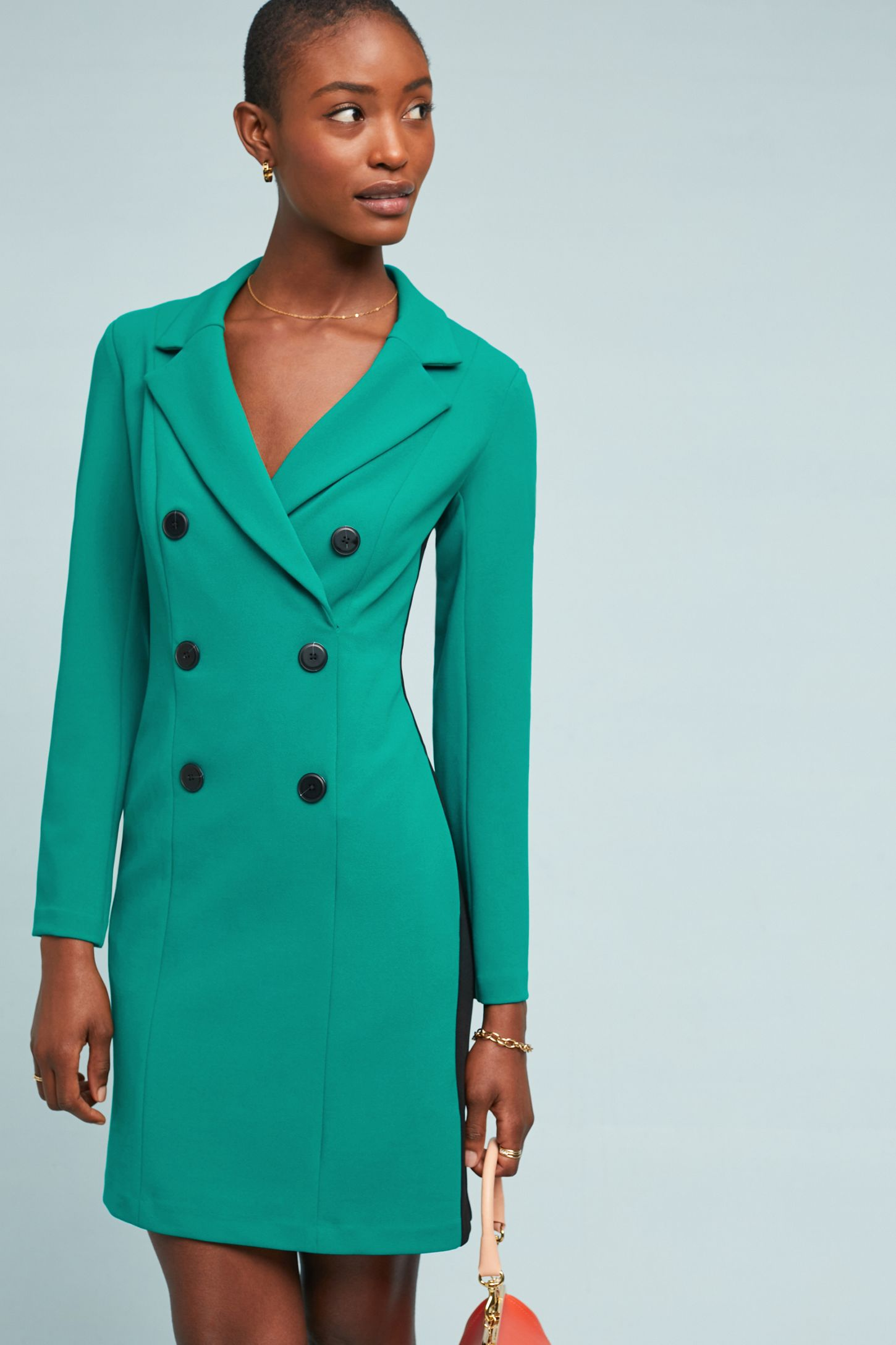 72a214cbaa520 Double-Breasted Blazer Dress | Anthropologie