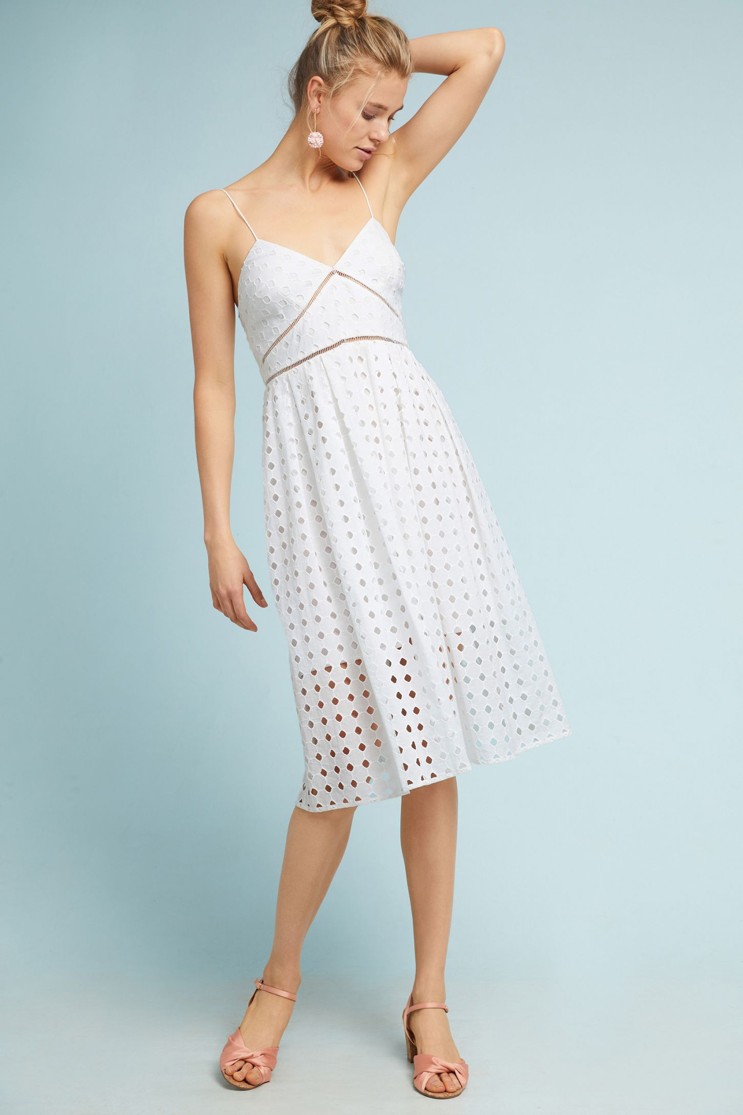 9b1e0bc449c Gridded Lace Petite Dress
