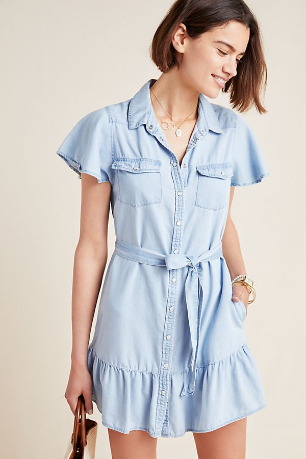 Paige Callan Chambray Shirtdress by Paige