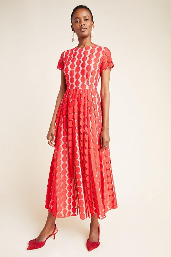 Slide View: 1: Remi Lace Maxi Dress