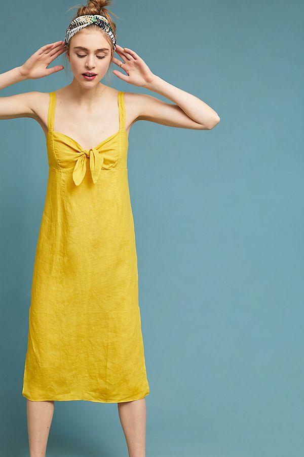 708bb3d072 Chetwyn Linen Dress