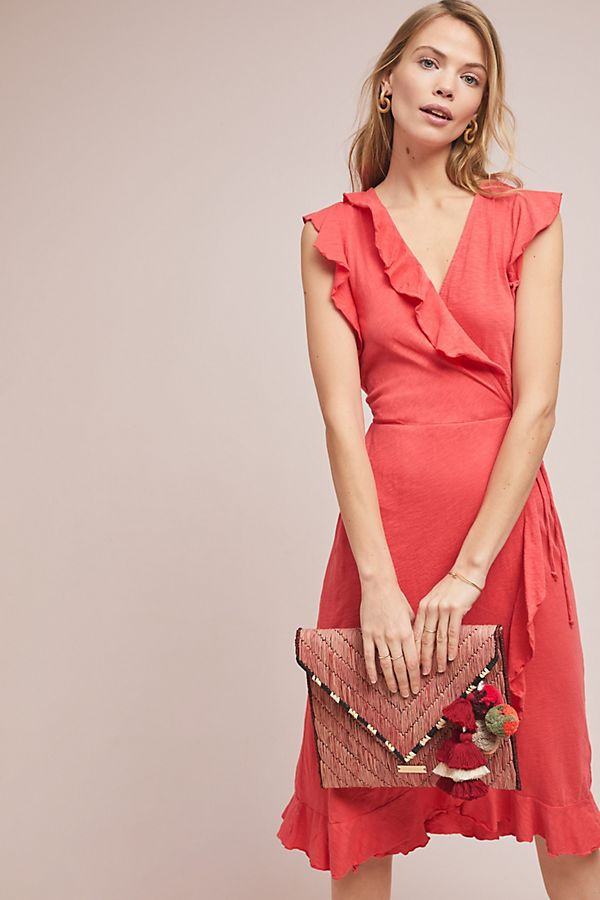 Slide View: 1: Corolla Wrap Dress