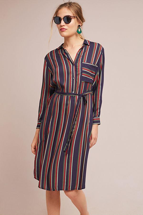 d263c3a3da Pero Striped Shirtdress