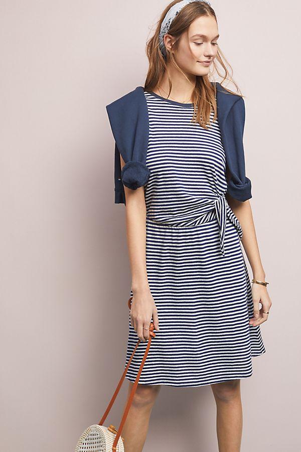 Slide View: 1: Mitizie Striped Dress