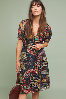 Slide View: 1: Taylor Paisley Dress