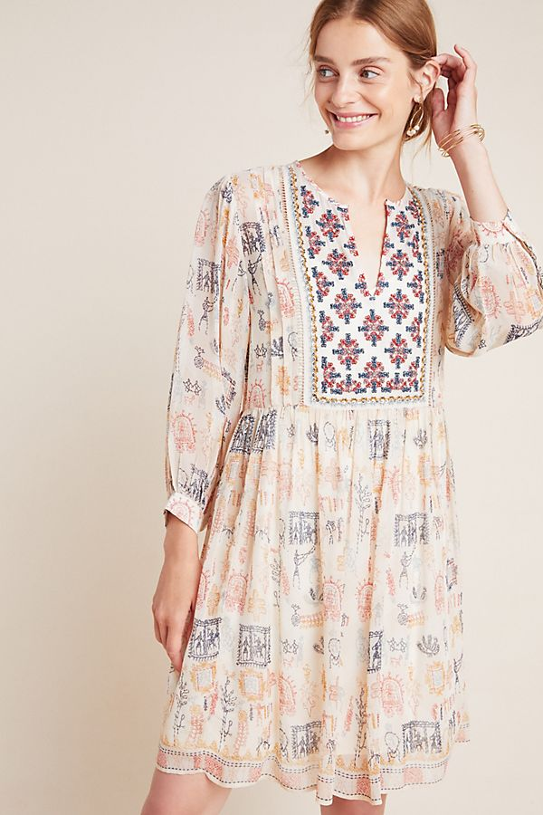Slide View: 1: Tawni Embroidered Tunic