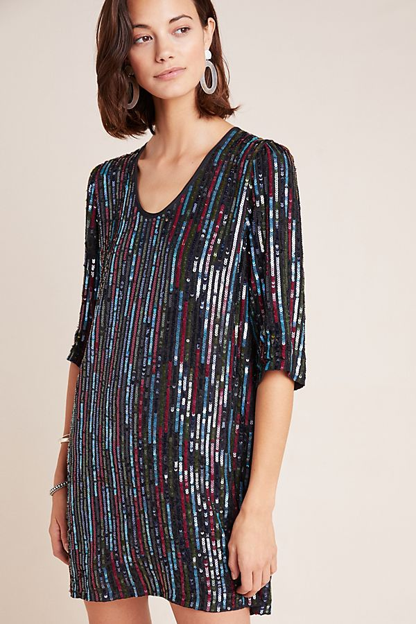 Slide View: 1: Elisa Sequined Tunic