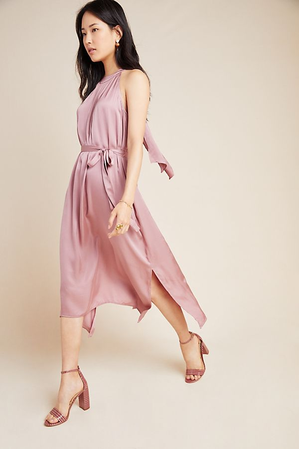 Slide View: 1: Camilla Halter Midi Dress