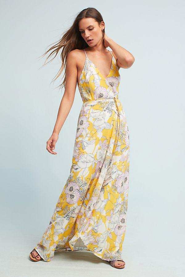 ea9a205798fa4 Yumi Kim Yara Silk Maxi Dress
