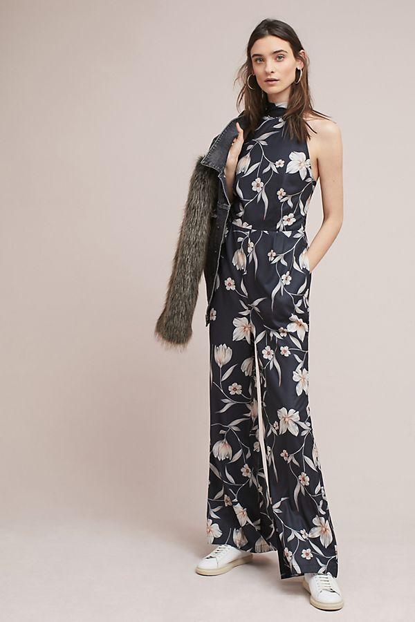 a090465357d Yumi Kim Floral Halter Jumpsuit