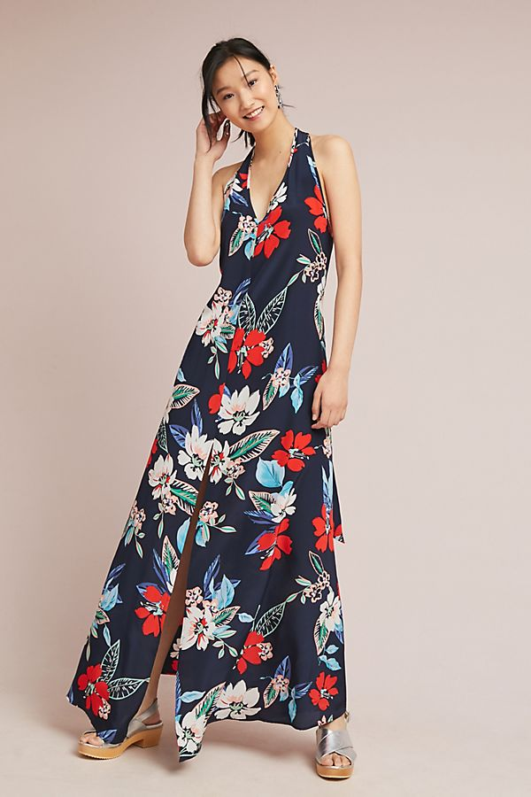 6aea6c57c927 Yumi Kim Silk Hibiscus Maxi Dress
