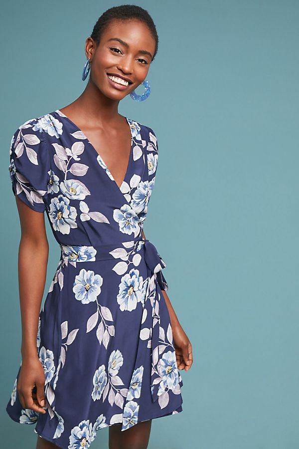 61a34b35b852c Yumi Kim Belmont Silk Wrap Dress