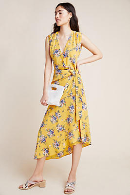Slide View: 1: Yumi Kim Bouquet Silk Dress