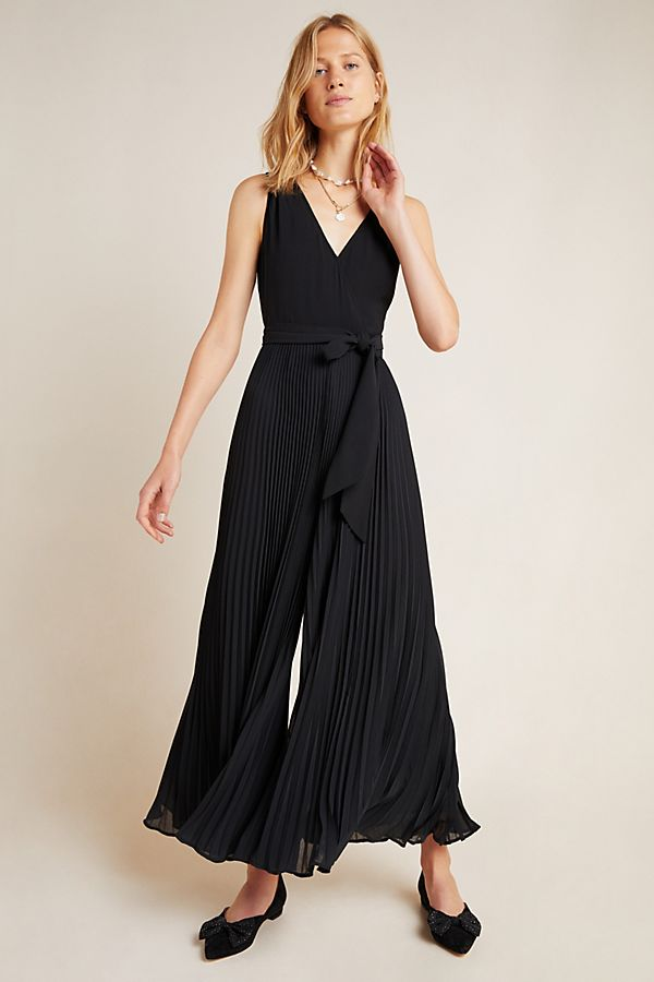 Slide View: 2: Viva Pleated Jumpsuit