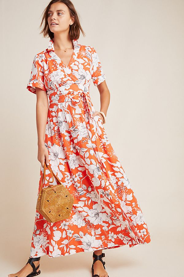 Slide View: 1: Janae Maxi Shirtdress