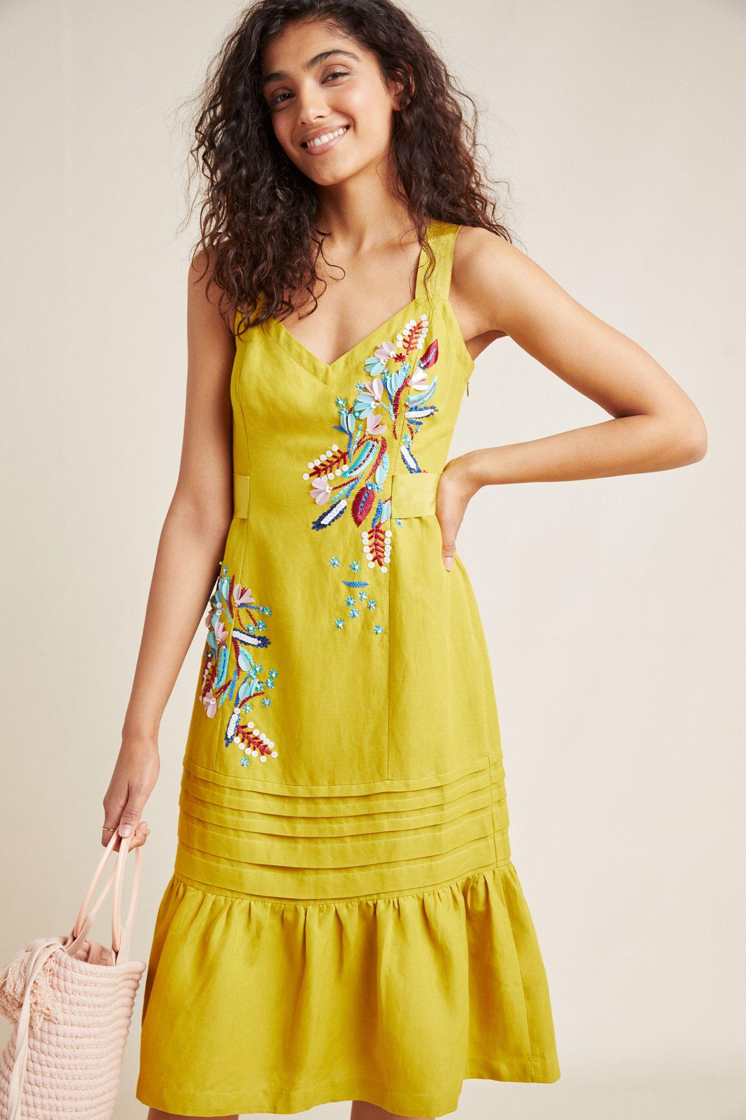fabfa300e4 Chicory Beaded Dress | Anthropologie