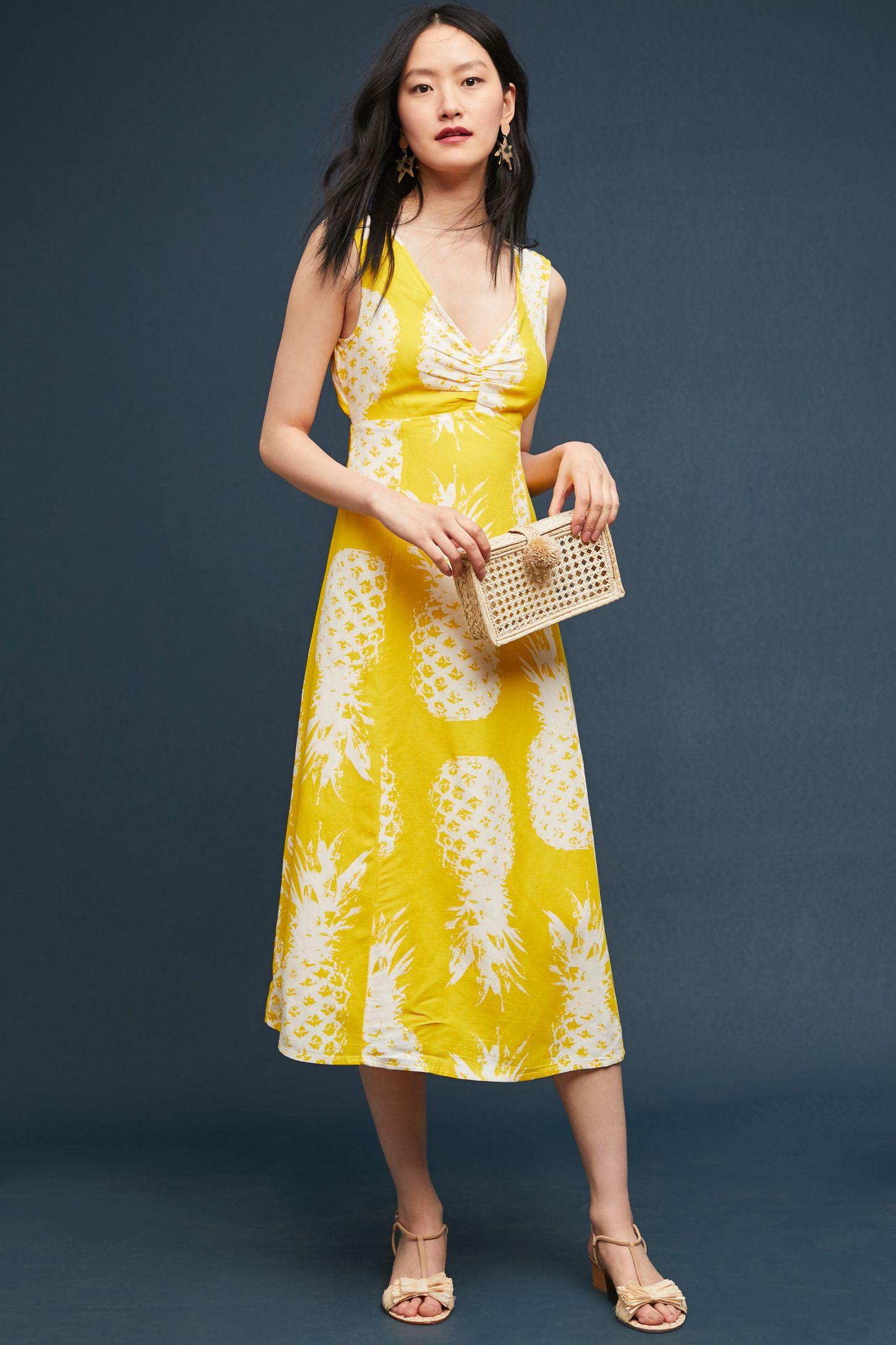 c72ebe78abc Pineapple Midi Dress