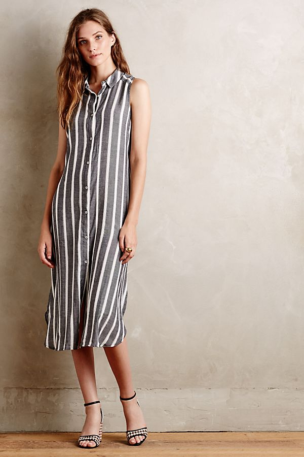 official photos no sale tax the cheapest Sleeveless Buttondown Dress | Anthropologie
