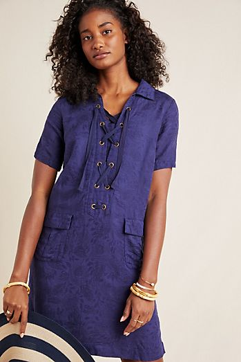 7ff0ebefe4c Ricarda Wrap Dress.  150.00. Finley Lace-Up Shirtdress