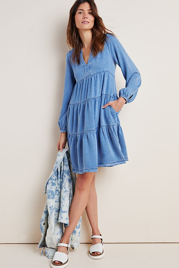 Slide View: 1: Susannah Tiered Tunic