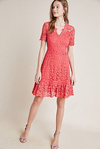 a40a62edc06 Shoshanna Guipure Lace Dress