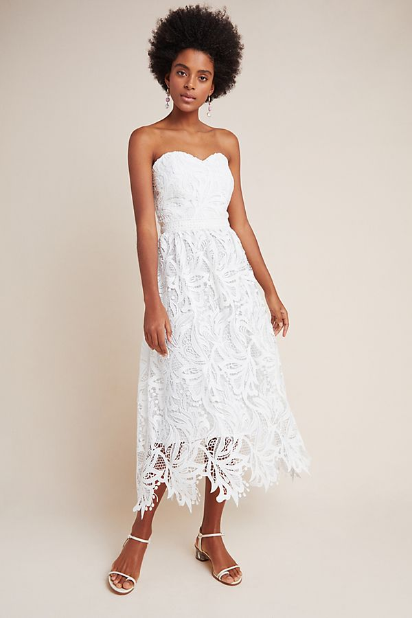 Slide View: 1: Shoshanna Fidelia Lace Mini Dress