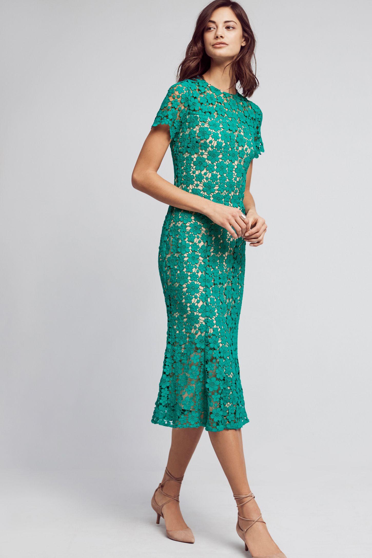 8dec4f1d9631 Symphony Lace Midi Dress | Anthropologie