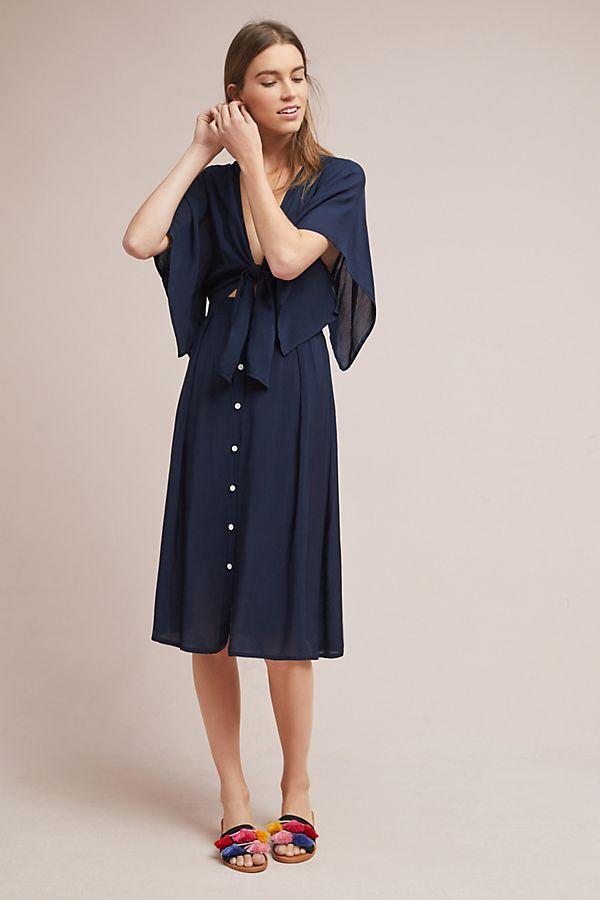 a8739fbeac9 Faithfull Market Tie-Front Dress