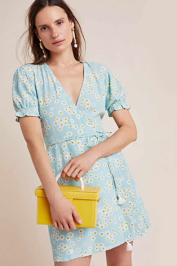 Slide View: 1: Faithfull Zoe Wrap Dress