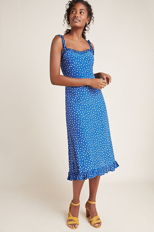 Slide View: 1: Faithfull Monette Midi Dress