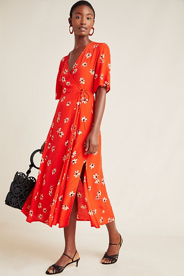 Slide View: 1: Faithfull Rivera Midi Dress