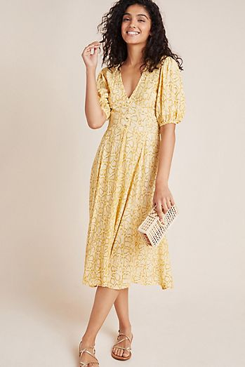 4f911f6782 Faithfull Delia Midi Dress
