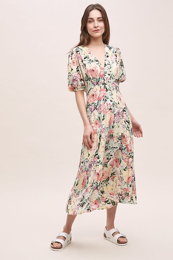 Faithfull The Brand Vittoria Floral-Print Dress